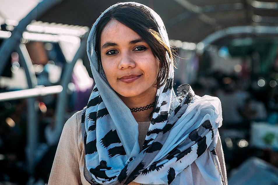 Mahdie, 16, aus Afghanistan