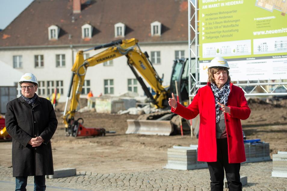 Ihr Verhältnis ist seit Monaten angespannt: Bürgermeister Jürgen Opitz und Sonnhild Ruffani.