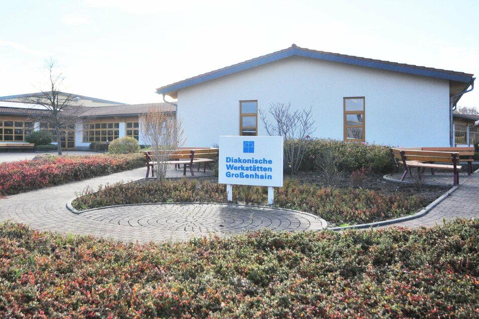 Die Diakonischen Werkstätten Großenhain im Gewerbegebiet Zschieschen hat Viola Herrlich mit aufgebaut.