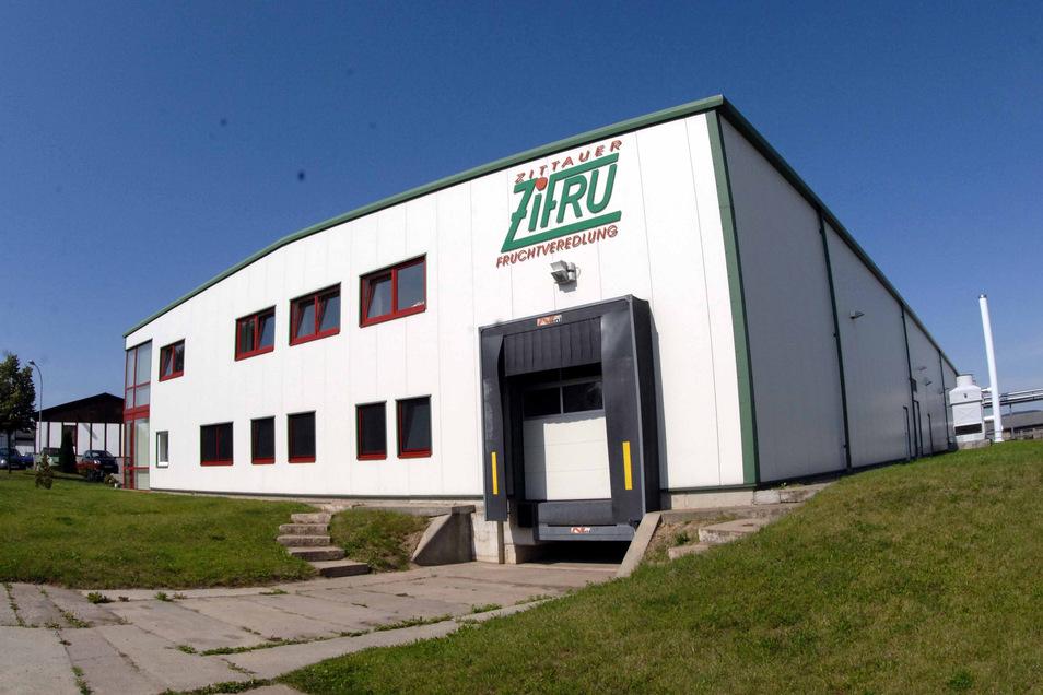 Das ZiFru-Produktionsgebäude.