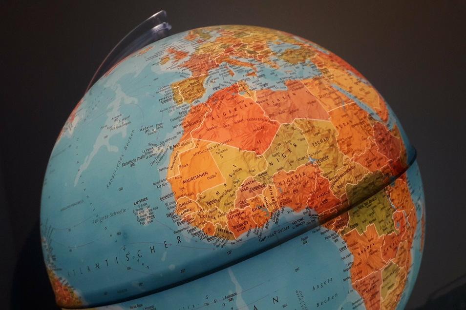 Ein Globus im Jugendzimmer ist von Vorteil, aber nicht Voraussetzung, um an der sächsischen Geografie-Olympiade teilzunehmen.