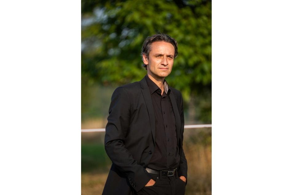 Dirk Stowasser ist Geschäftsführer der Stowasser Bau GmbH Roßwein und möchte in Haßlau investieren. Schon den ersten Wohnbaustandort dort hat das Unternehmen initiiert.