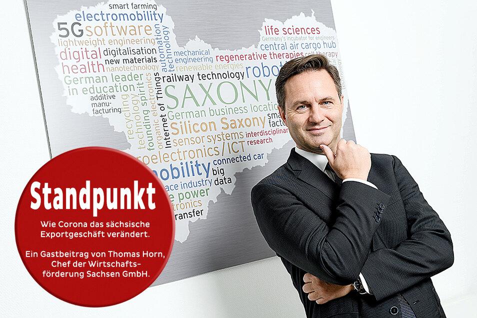 Thomas Horn, Geschäftsführer der Wirtschaftsförderung Sachsen GmbH Foto: © BLEND3 Frank Grätz