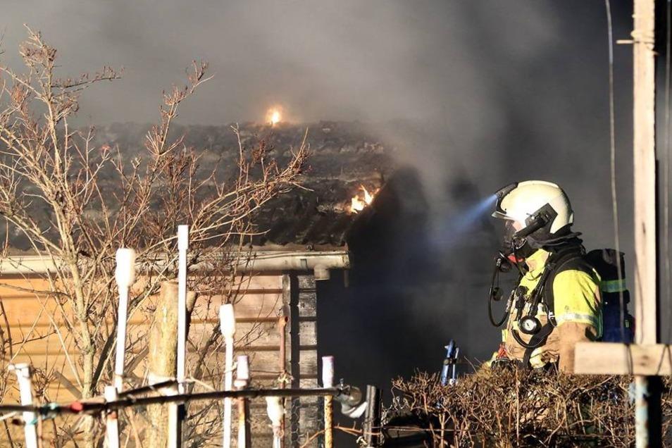 Es war der vierte Brand innerhalb einer Woche.