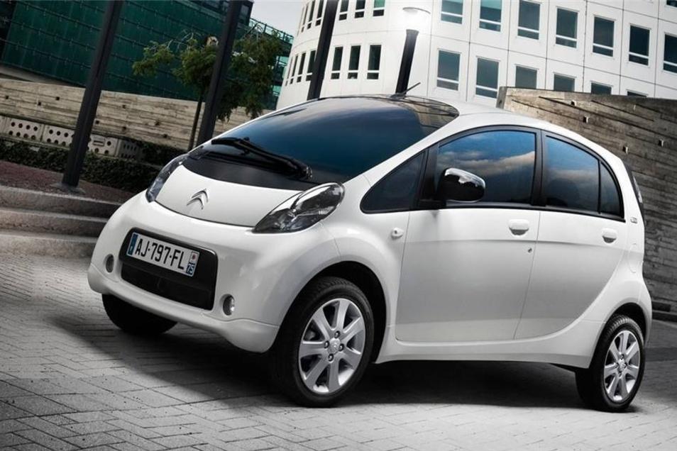 E-Autos von Citroen gibt es bis jetzt 25 in Dresden. Auch diese Marke vertreibt mehrere Modelle, die sich rein elektrisch fortbewegen, etwa den C-Zero (Foto) oder den E-Mehari.