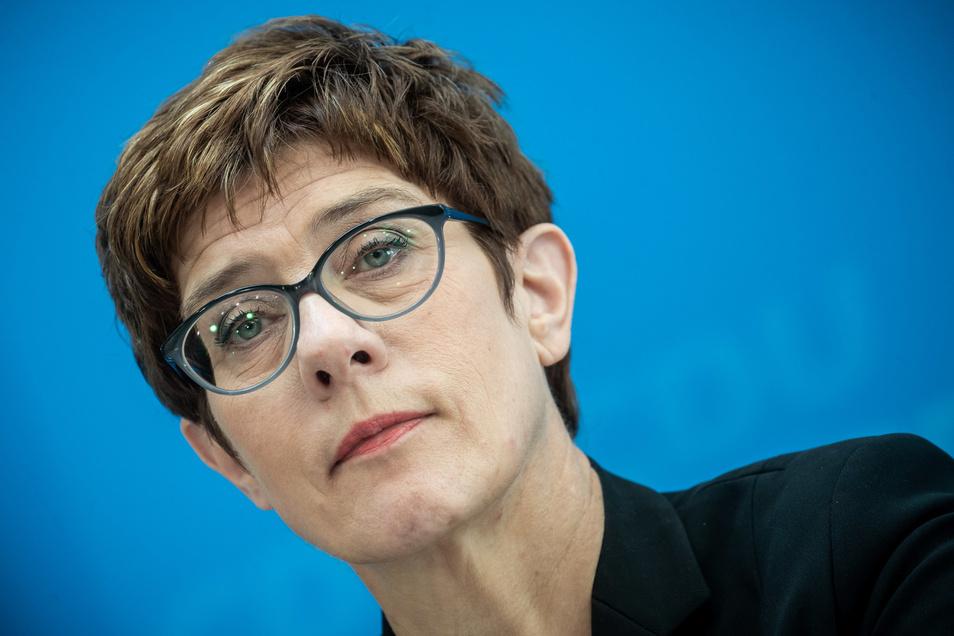 Annegret Kramp-Karrenbauer wird am Mittwoch als neue Verteidigungsministerin vereidigt.
