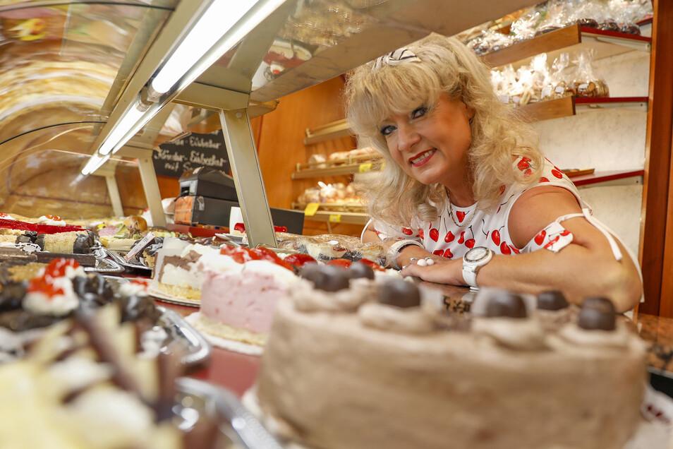 Manuela Schedel öffnet das Café am Rathaus 365 Tage im Jahr.