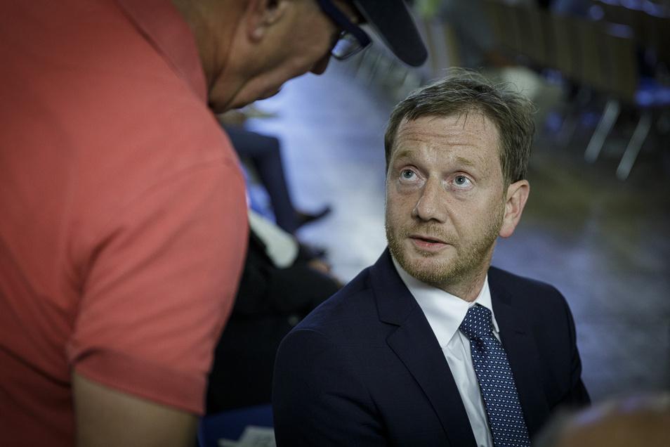 Wahlkampf in Görlitz: Im Wichernhaus konnte man seine Fragen an die Spitzenkandidaten des Wahlkreises loswerden.