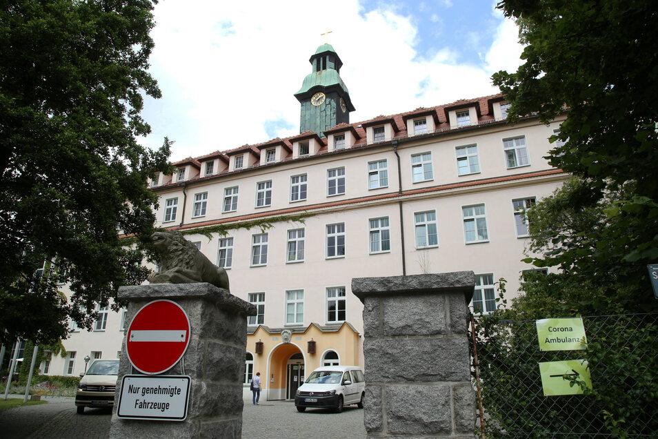 Das St.-Carolus-Krankenhaus in Görlitz hatte Räume für die Corona-Ambulanz zur Verfügung gestellt.