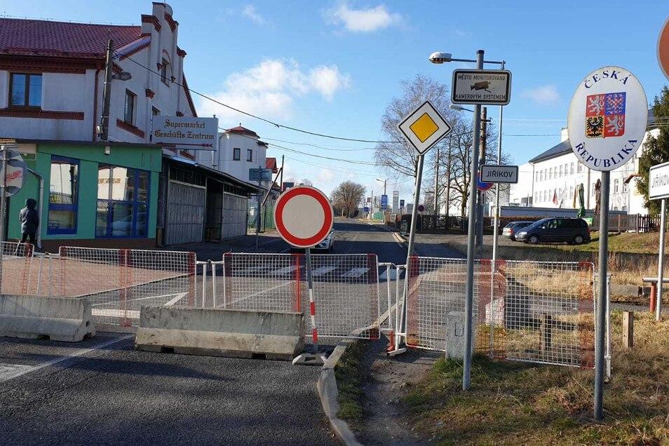 Zu: Grenzübergang Ebersbach/Jirikov