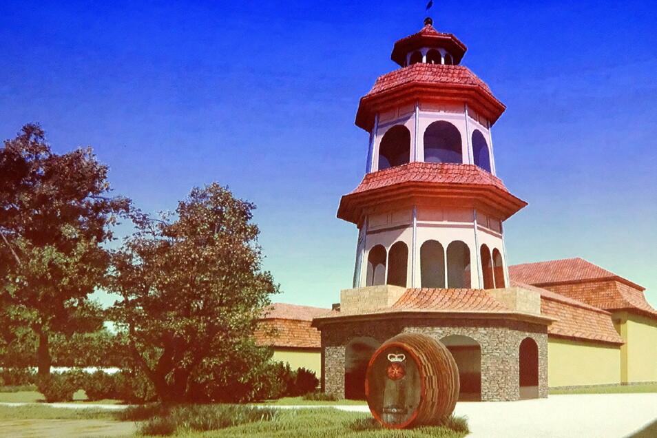 Dort, wo einst eine Mühle stand, sehen die vom Architekten Heinfried Stuve entworfenen Pläne einen öffentlich zugänglichen Aussichtsturm vor.