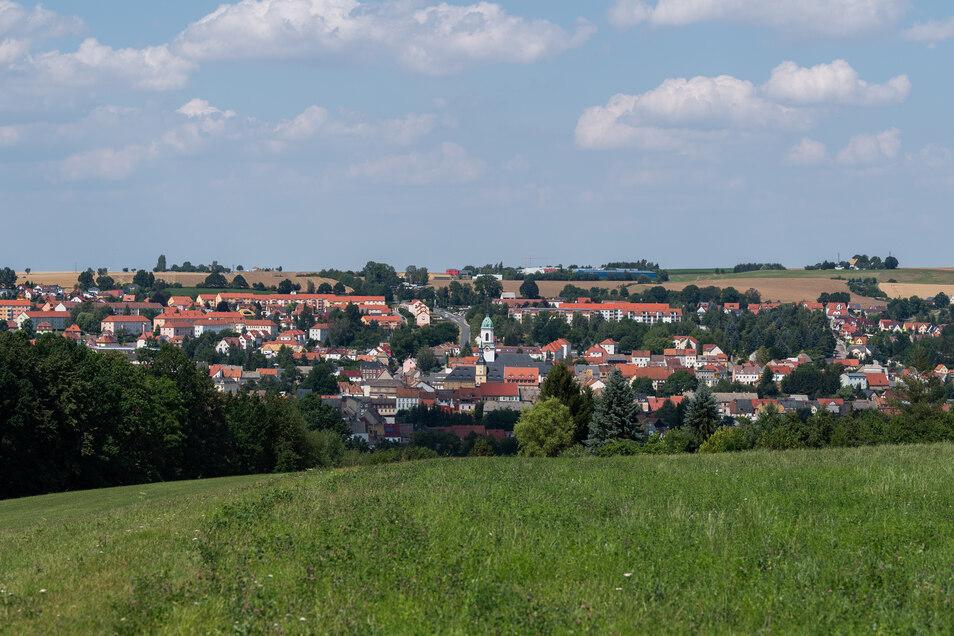 Roßwein im Landkreis Mittelsachsen. Die Region zählt laut einem Ranking von Focus Money zu den wirtschaftlich am wenigsten attraktiven in Deutschland.