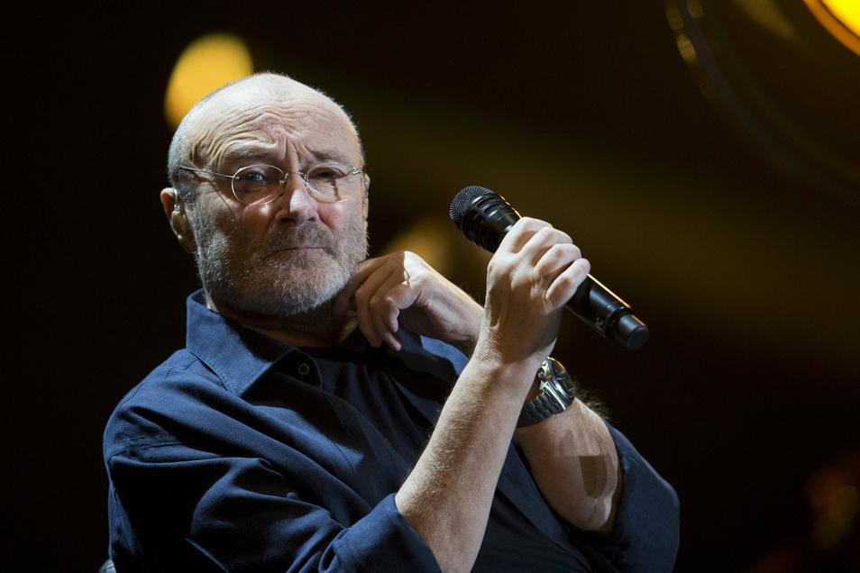 Phil Collins, hier 2018 bei einem Konzert in Mexiko, wird am Sonnabend 70 und will im Herbst mit Genesis auf Tour gehen.