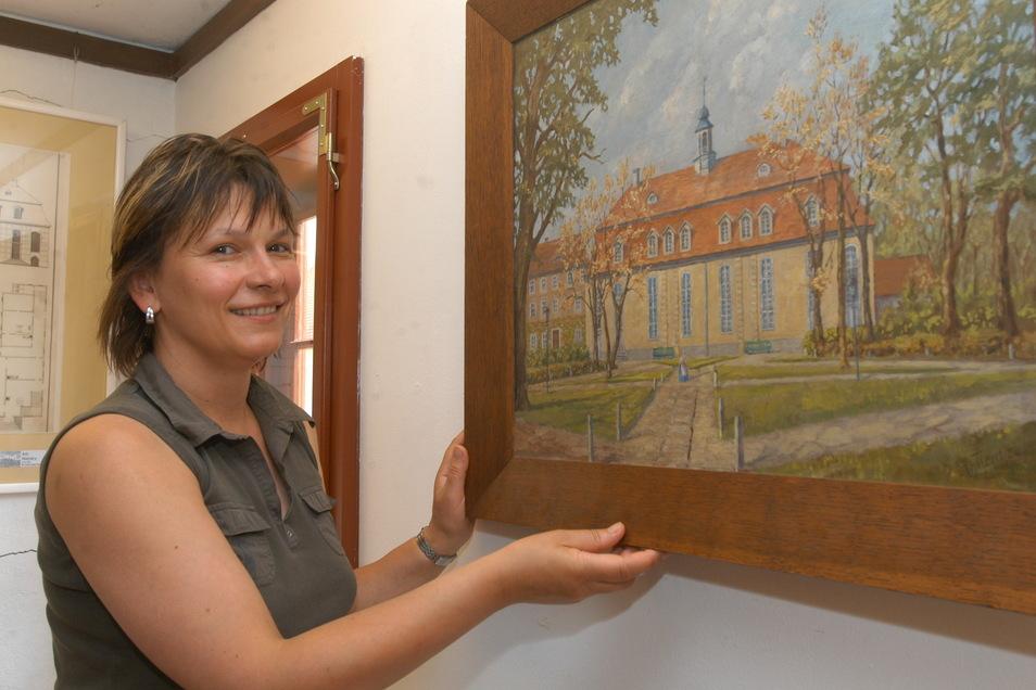 Museumsleiterin Eva Maria Bergmann wird sich auch weiterhin um die Ausstellungen im Raschke-Haus kümmern können. Die befürchtete Stellenkürzung wird es nicht geben.