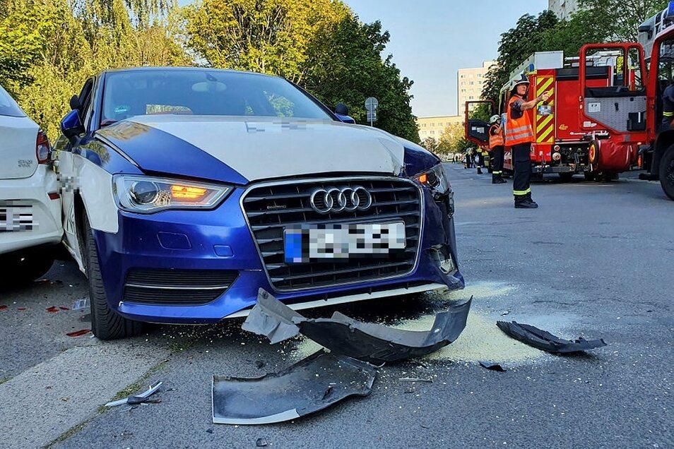 An den drei Autos entstand ein Schaden von rund 7.500 Euro