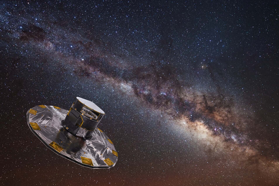 Das europäische Weltraumteleskop Gaia liefert spektakuläre Daten zu den Vorgängen im Universum.