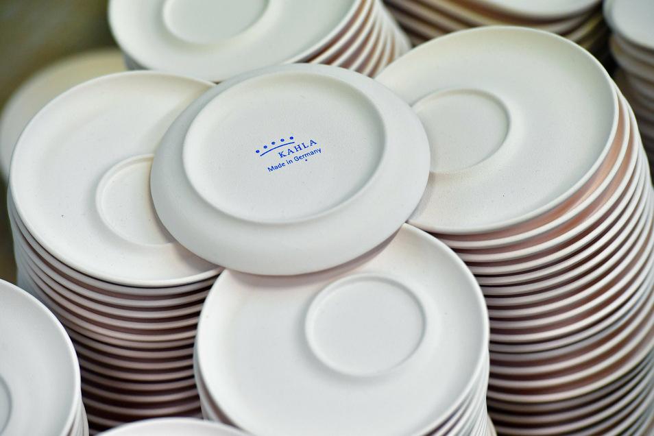 In Kahla wird seit mehr als 170 Jahren industriell Porzellan hergestellt.