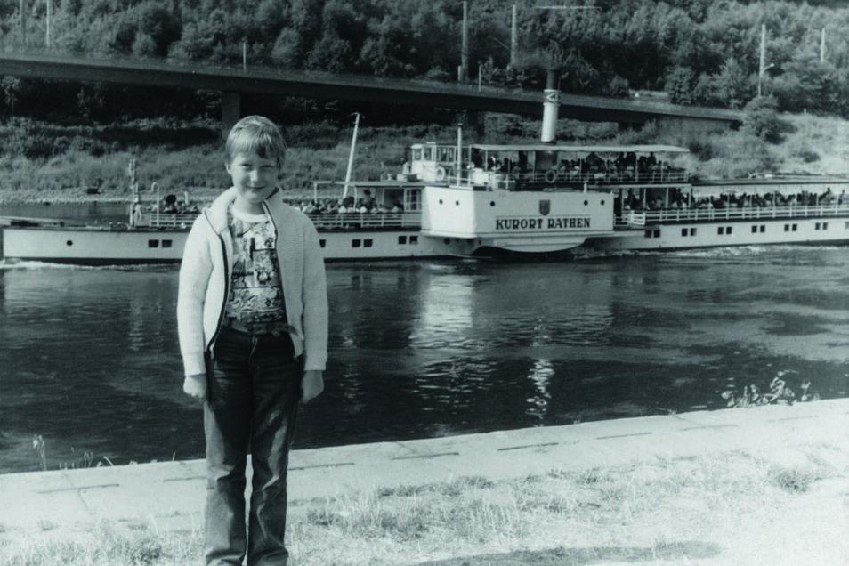 Schon als Kind war Michael Hillmann von den Dampfern auf der Elbe fasziniert.