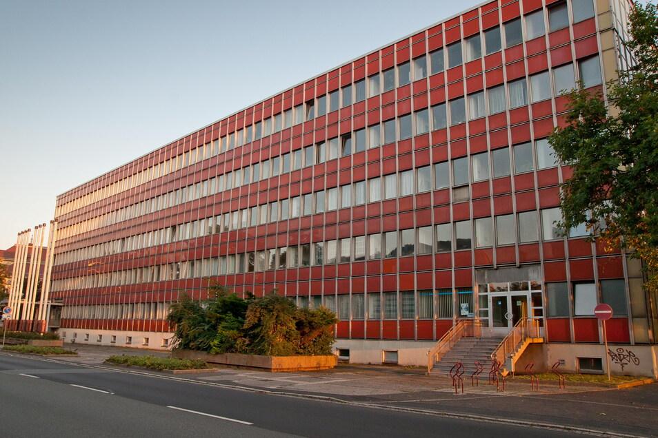 Das Haus III der Hochschule am Zittauer Stadtring ging 1974 in Betrieb und beherbergte die Verwaltung.