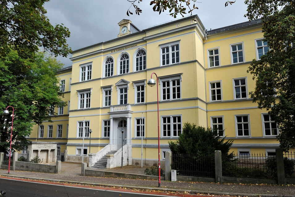 Des Lessing-Gymnasium Döbeln.