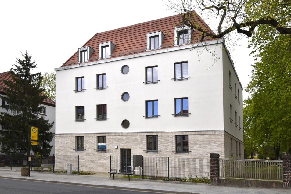 Großvermieter Vonovia schließt auf seinen Dresdner Grundstücken etliche Baulücken - wie zuletzt hier in Laubegast an der Salzburger Straße. Die ersten Mieter sind bereits eingezogen.