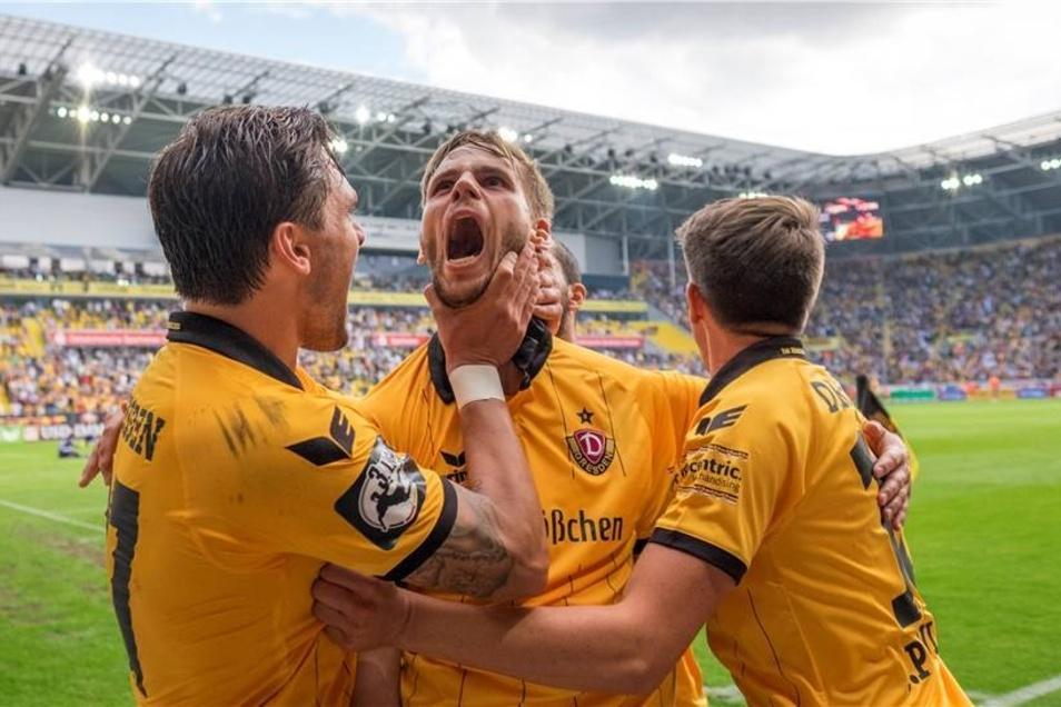 Gegen den VfL Osnabrück stand es am 19. September 2015 bis in die Nachspielzeit 1:1. Aber Offensivmann Justin Eilers sicherte mit seinem nicht mehr für möglich gehaltenen 2:1-Siegtreffer (90. +2) doch noch die volle Punktzahl.