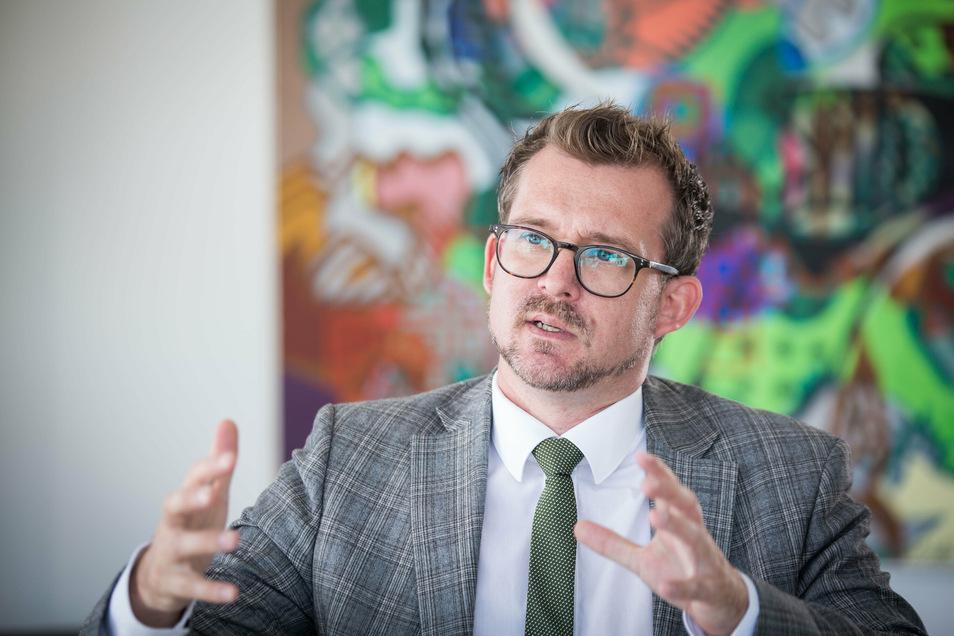 Baubürgermeister Raoul Schmidt-Lamontain (Grüne) erklärt im SZ-Interview, was er lieber nicht gesagt hätte.