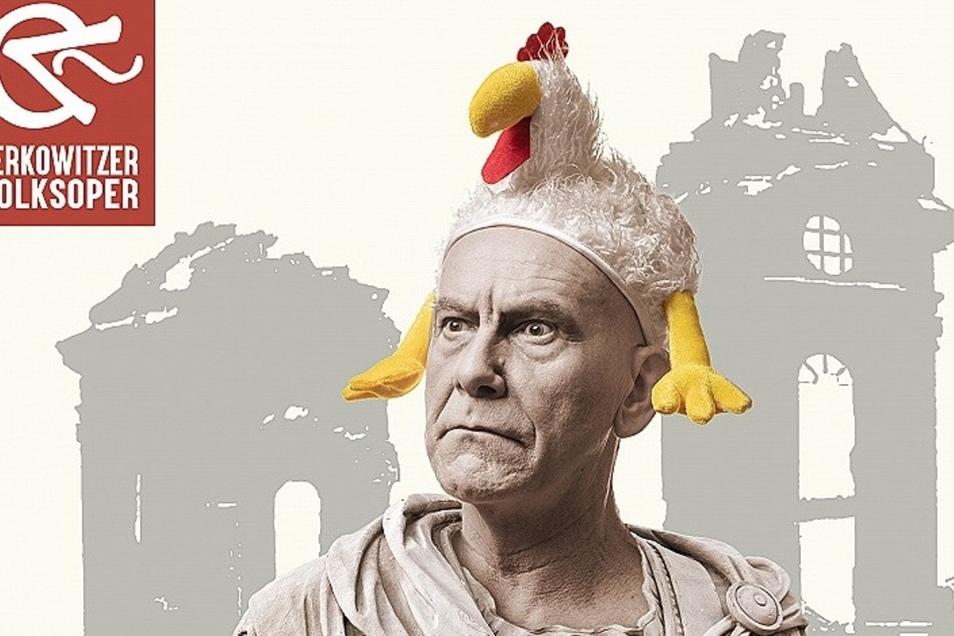 """Ab 12. August gibt es auch in der Saloppe Dresden Sommertheater - """"Roumulus der Große"""" heißt das Stück."""