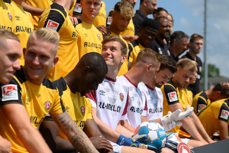 Dynamo ist nach dem Aufstieg in die zweiten Liga größtenteils zusammengeblieben. Doch reichen die acht Neuzugänge aus, um in der Liga zu bleiben?