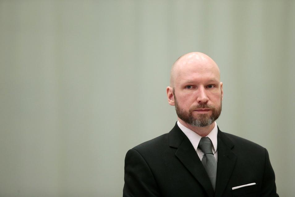 Der norwegische Massenmörder Anders Behring Breivik, der sich mittlerweile Fjotolf Hansen nennt.