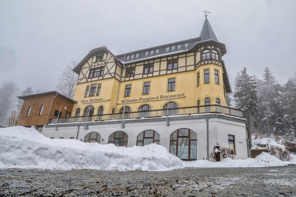 Das Alte Kurhaus in Lückendorf.