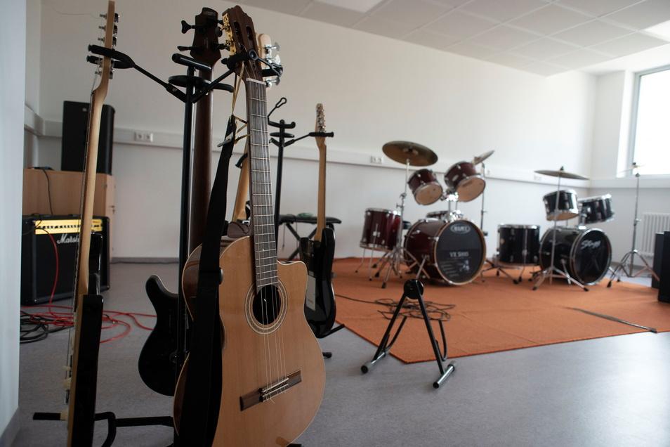 Auch ein Musik-Kabinett wurde geschaffen.