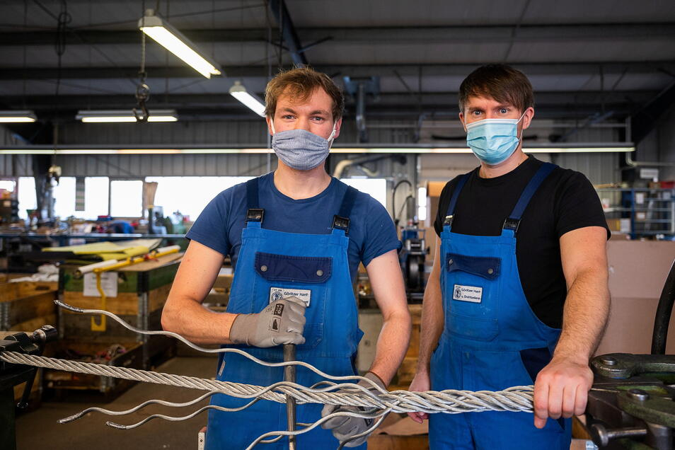 Wie geht es den es den Unternehmen im Landkreis Görlitz - hier ein Foto aus der Görlitzer Hanf- und Drahtseilerei - in Zeiten von Corona? 73 Firmen gaben dazu Auskunft.