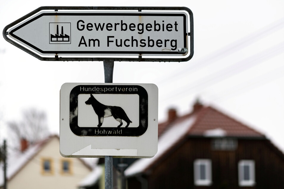 Mehr Platz für Gewerbe Am Fuchsberg im Neustädter Ortsteil Berthelsdorf?