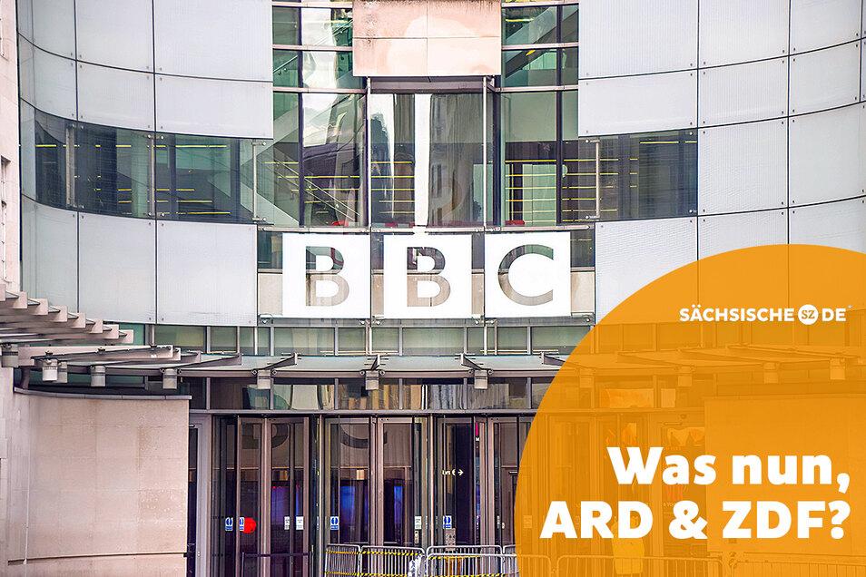 Mutter aller Rundfunkanstalten: Die Zentrale der BBC in London.