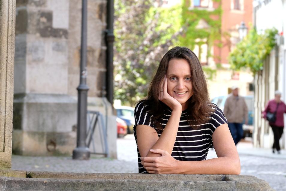 """""""Das Jubiläum soll in allen Teilen der Stadt eine Rolle spielen"""": Sara Engelmann, Kulturreferentin im Meißner Rathaus."""