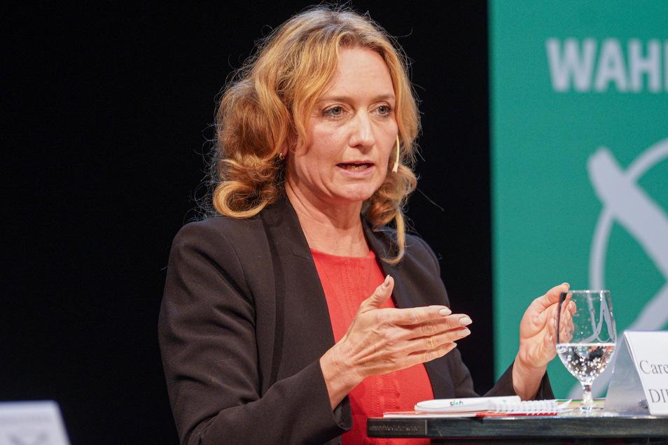Jetzt steht fest: Auch die Bautzener Abgeordnete Caren Lay (Linke) schafft den Einzug in den Bundestag.