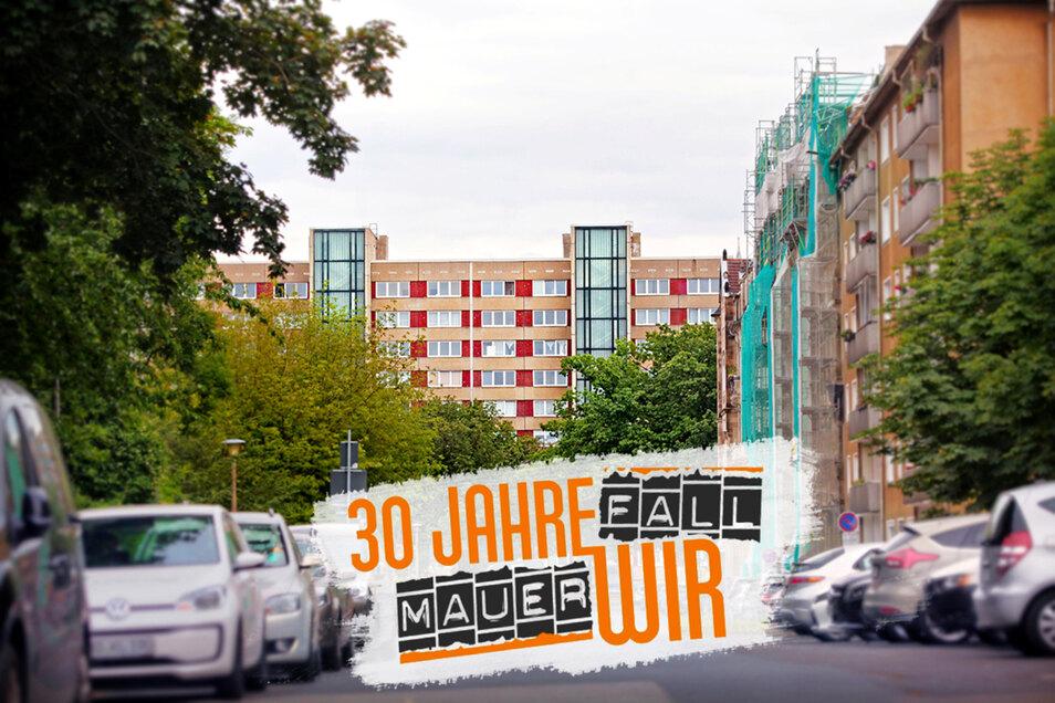 In der Dresdner Johannstadt stehen Platten neben Bürgerhäusern, treffen Gutverdiener auf Hartz-IV-Empfänger, Rentner auf Familien.