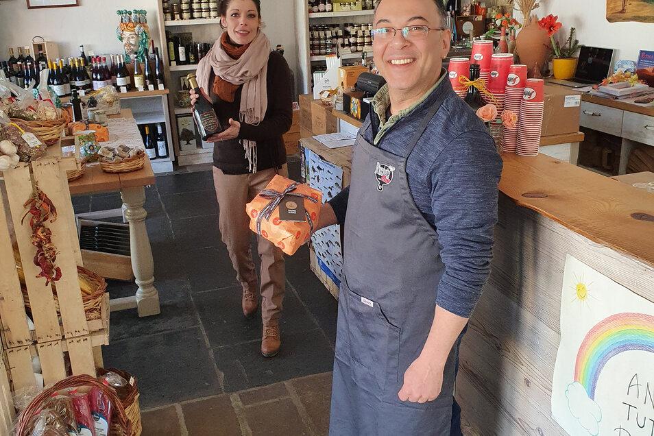 Salvatore Davide Russo und Daniela di Paola werden wieder die volle Verkaufszeit im Terra Mia in Altkötzschenbroda öffnen.