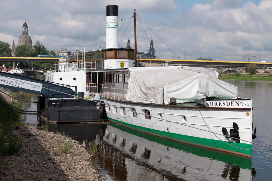 Was hat der Freistaat bei der Sächsischen Dampfschiffahrt vor?