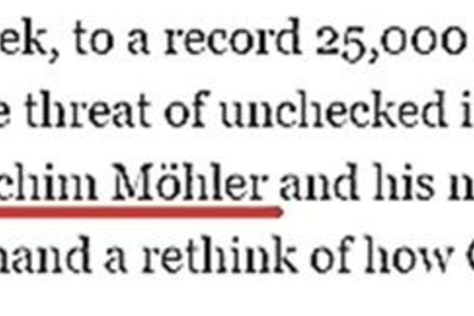Die Irish Times schreibt am 17. Januar über Pegida – und den Protest von Joachim Möhler und seinen Nachbarn.