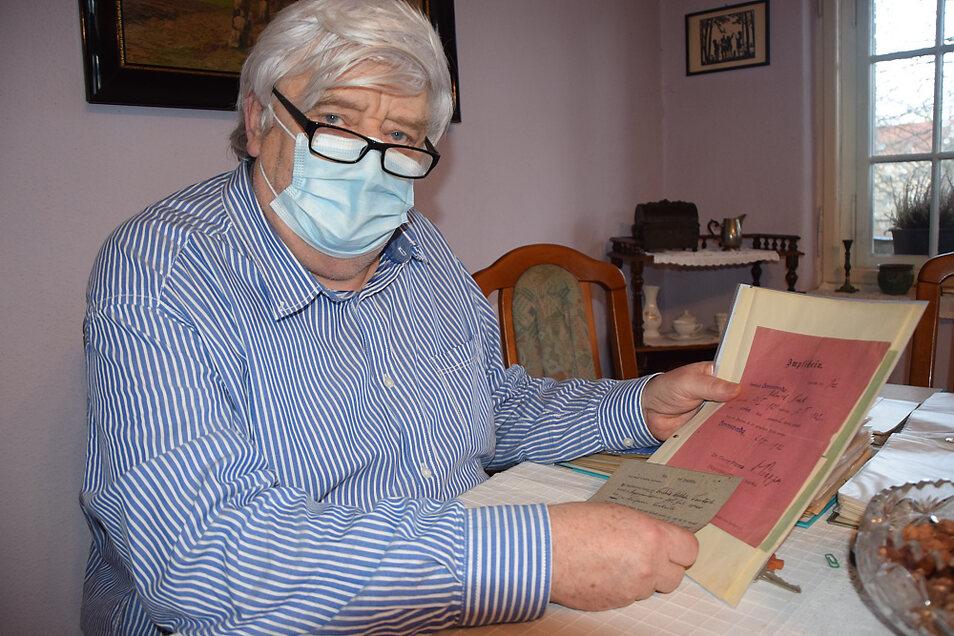 Andreas Noack hat aus aktuellem Anlass in alten Zeitungen und Dokumenten zum Thema Impfen in Hoyerswerda recherchiert und dabei auch eine Impfbescheinigung entdeckt.