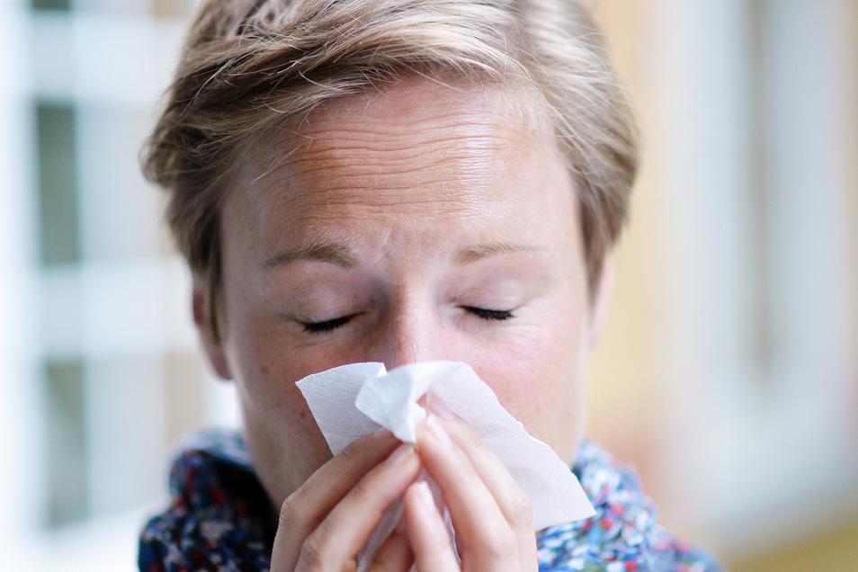 Husten- und Schnupfenzeit fallen mit der Coronavirus-Epidemie zusammen. Viele Dresdner sind besorgt.
