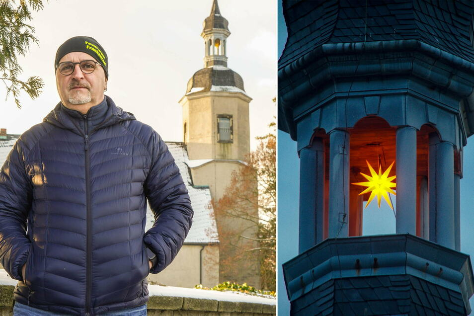 Der Kirchturm in Frankenthal zieht neuerdings die Blicke auf sich. Das hat mit der Spende des Fördervereins der freiwilligen Feuerwehr und dessen stellvertretendem Vorsitzenden Kay Winkler zu tun.