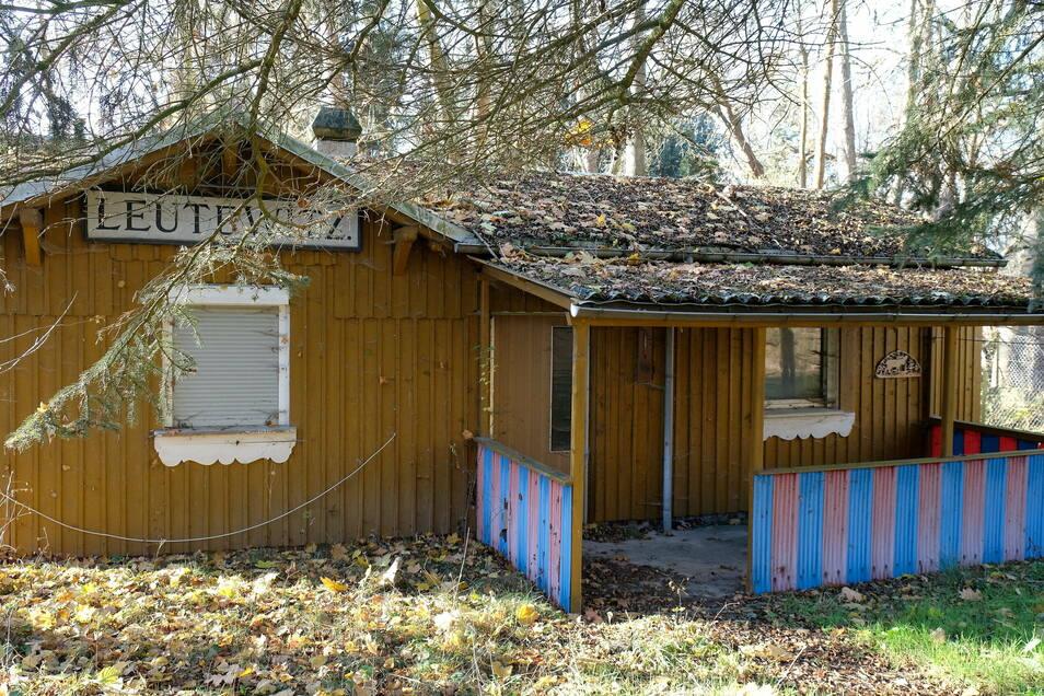 Das Gebäude Leutewitz war lange Zeit Domizil der Angler. Jetzt steht es leer.