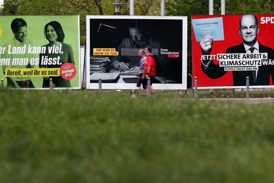 Welche Partei bekommt die Stimme? Fast zwei Drittel der Sachsen haben sich bereits entschieden.