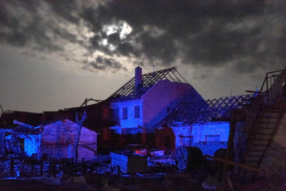 Viele Einwohner der Dörfer sind geschockt über das Ausmaß der Zerstörungen.