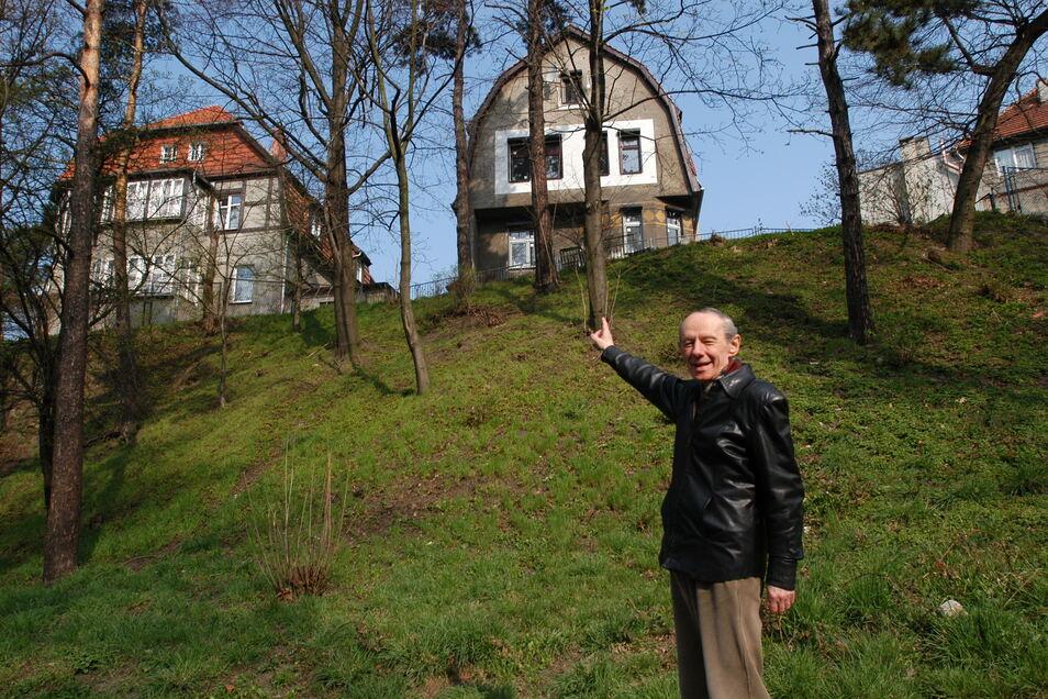 Zgorzelec hatte es Kretzschmar angetan. Seine Führungen führten ihn hier 2005 zum Rabenberg.