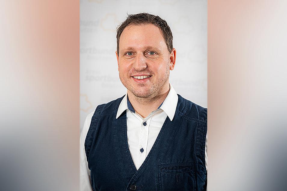 Lars Bauer ist Geschäftsführer des Kreissportbundes Bautzen.