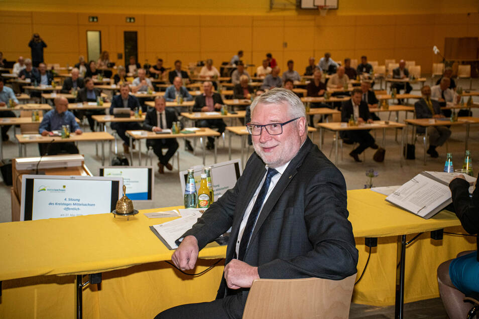Landrat Matthias Damm (CDU) hat einen offenen Brief von der AfD-Fraktion des Landkreises erhalten.